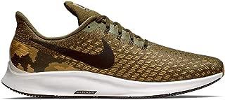 Nike Men's Air Zoom Pegasus 35 GPX Sneakers, Olive Canvas/Black