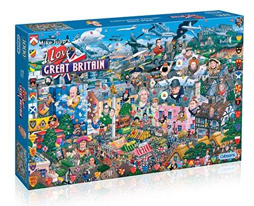 Gibsons Games - Puzzle de 1000 Piezas [Importado de Inglaterra]