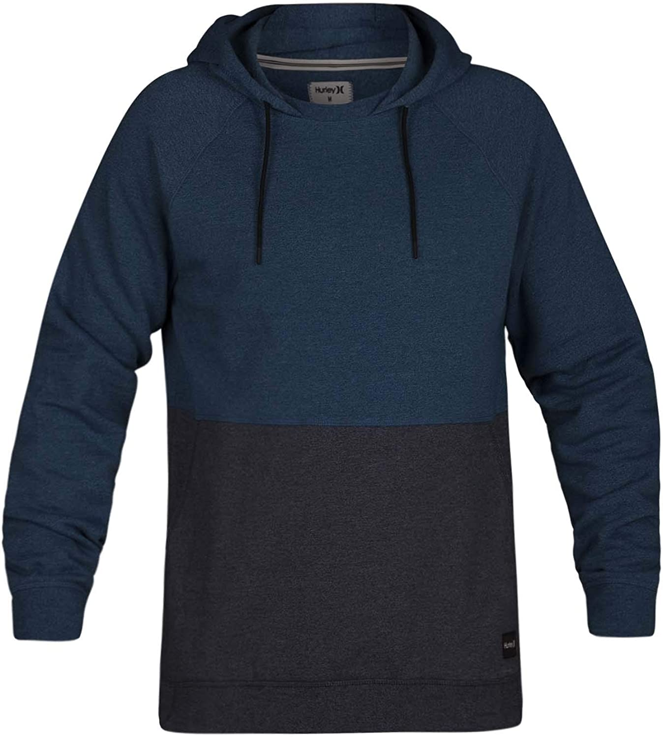 Hurley Men's Crone Marled Popularity New Orleans Mall Hoodie Pullover Textured