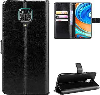 LODROC LOBYU0301432 Xiaomi Redmi Note 9 Pro Case, TPU lederen hoes magnetische beschermhoes [kaartenvak] [standfunctie], s...