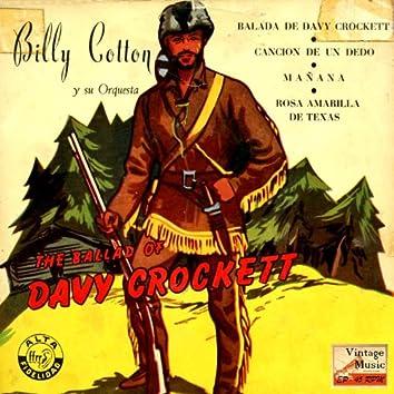 "Vintage Pop Nº 63  - EPs Collectors ""The Ballad Of Davy Crockett"""