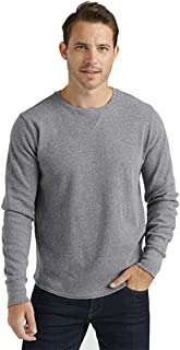 Lucky Brand Men's Long Sleeve Crew Neck Brushed Thermal Shirt