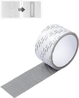 網戸補修テープ メッシュタイプテープ 網戸パッチ 網戸補修シート 網戸の破れを張るだけで簡単補修 自由裁断強粘着性 防水 虫を避け (灰色, 5*400cm)