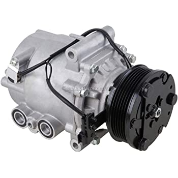 AC Compressor & A/C Clutch For Saturn Vue 3.5L V6 2004 2005 2006 2007 - BuyAutoParts 60-01870NA NEW