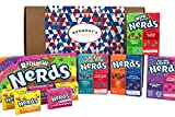 Wonka Nerds American Candy Selection Gift Box - 10 Packs - Hamper Exclusive To Burmont's -