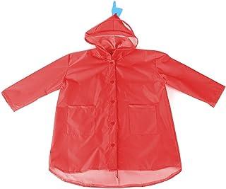 Deylaying 子供用雨具 レインコート キッズ 雨カバー 小学生 恐竜柄 防水 防風 便利