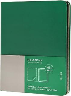 Moleskine - Funda iPad 3 y 4, color verde óxido + cuaderno