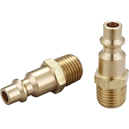 20 pcs Heavy Duty Quick Coupler Air Hose Connector Fittings 1//4 NPT I M Style
