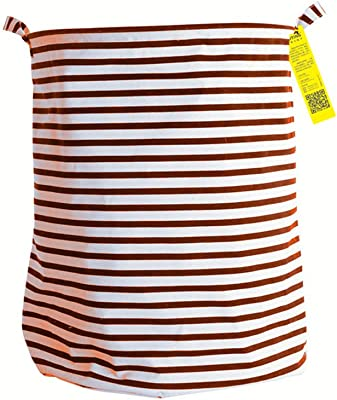 Lila Belleza Bolsa Ropa Sucia grande cesta Collect Kids Toy organizador para almacenamiento de ropa, Casual, Rojo, 1