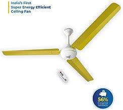 SUPERFAN V1 Ceiling Fan, 1400 mm, Yellow