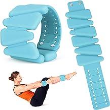 Bestfire Polssteun Verstelbare Vrouwen Polsgewichten 2 Pack Siliconen Gewicht Armbanden Draagbare Polsriem Enkelgewichten ...