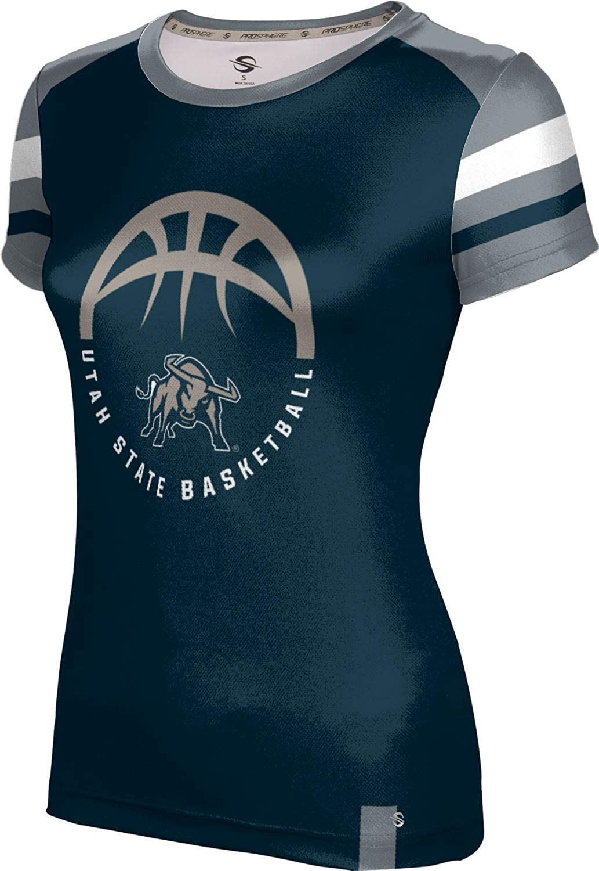 ProSphere Utah State University Basketball Girls' Performance T-Shirt (Old School)