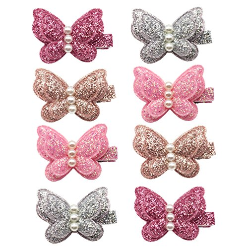 Product Image of the Elesa Miracle Baby Girl Toddlers Infants Kids Hair Snap Clips Barrettes...