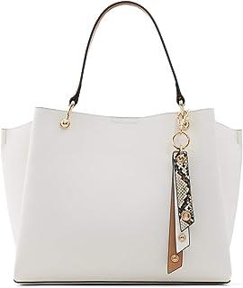Aldo Satchel Handbag Nusz, White Multi