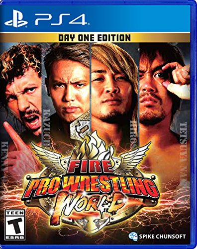FIRE PRO WRESTLING WORLD - FIRE PRO WRESTLING WORLD (1 GAMES)