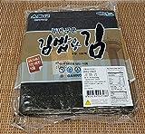 [KHEE] Korean Premium / Traditional / Gimbap Dried Roasted Crispy Seaweed / Green Laver Sheets, 3 Flavors(Premium, Traditional, Gimbap), 1Pack (Gimbap Seaweed)