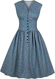 vintage 40s and 50s dresses