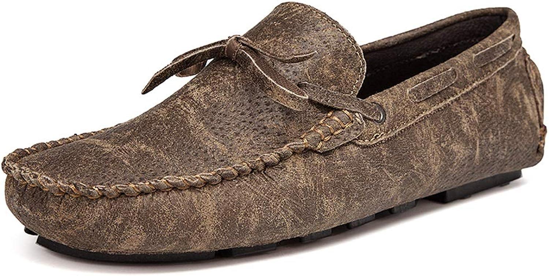 DorisAA Loafer-Schuhe für Herren Fahrende Müßiggänger Bequeme weiche leichte QuastenStiefel-Mokassins QuastenStiefel-Mokassins QuastenStiefel-Mokassins Loafer Schuhe (Farbe   Khaki, Größe   40 EU)  1e6535