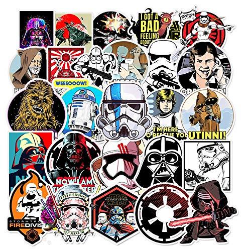Blour Sticker voor kinderen, om zelf te maken, creatieve stickers, voor graffiti, skateboard, laptop, bagage, gitaar, koelkast, car dodle deccal50 stuks