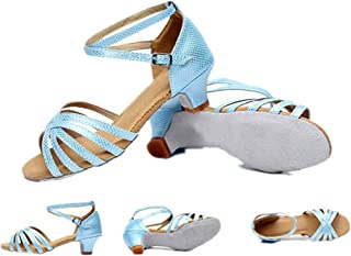 lcky Ladies Sandals Dancing Rumba Ballroom Latin Dance Shoes