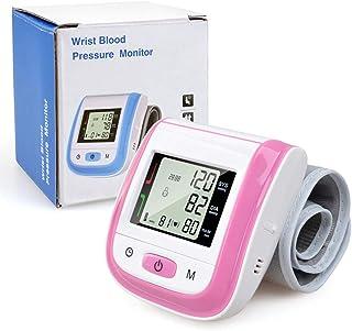 Tree Monitor de presión Arterial electrónico - Cuidados de la Salud Esfigmomanómetro de muñeca automático LCD Digital Muñequera Esfigmomanómetro Manómetro Medidor de presión Tonómetro
