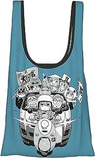 Yurikan 环保包 购物包 折叠多功能 大容量 防水 轻便 购物包 动画 角色 商品 男女通用 杂货