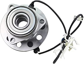 Bodeman - New Front Wheel Hub and Bearing Assembly for 1995 1996 1997 1998 1999 2002 GMC Safari/Chevy Astro - AWD; 5 Lugs