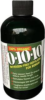 Bonsai Tree Fertilizer for Fall & Winter - No Nitrogen 0-10-10