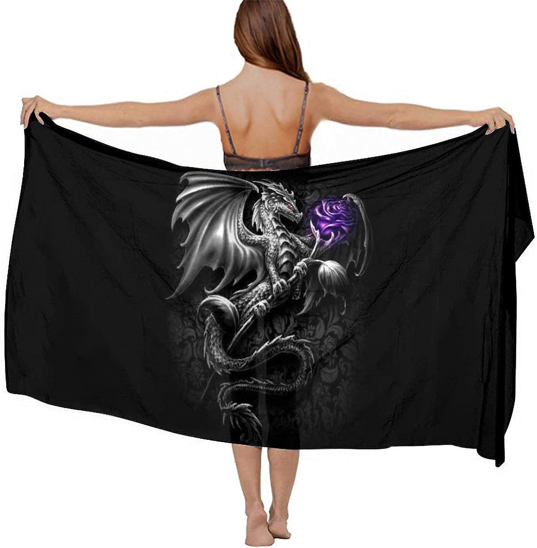 Fashion Swimsuit Holiday Beach Shawl Sarong Scarf Wrap Bikini Cover Up for Women Girls