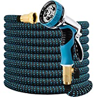 Double Couple 75-Ft. Expandable Water Hose with Nozzle