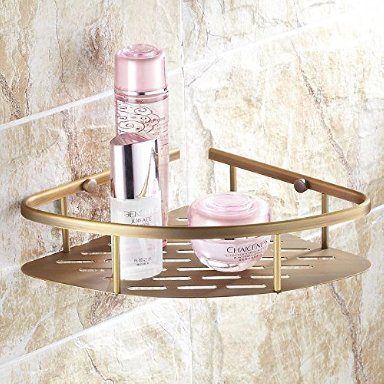 European copper antique double bathroom triangle shelf,B-@wei
