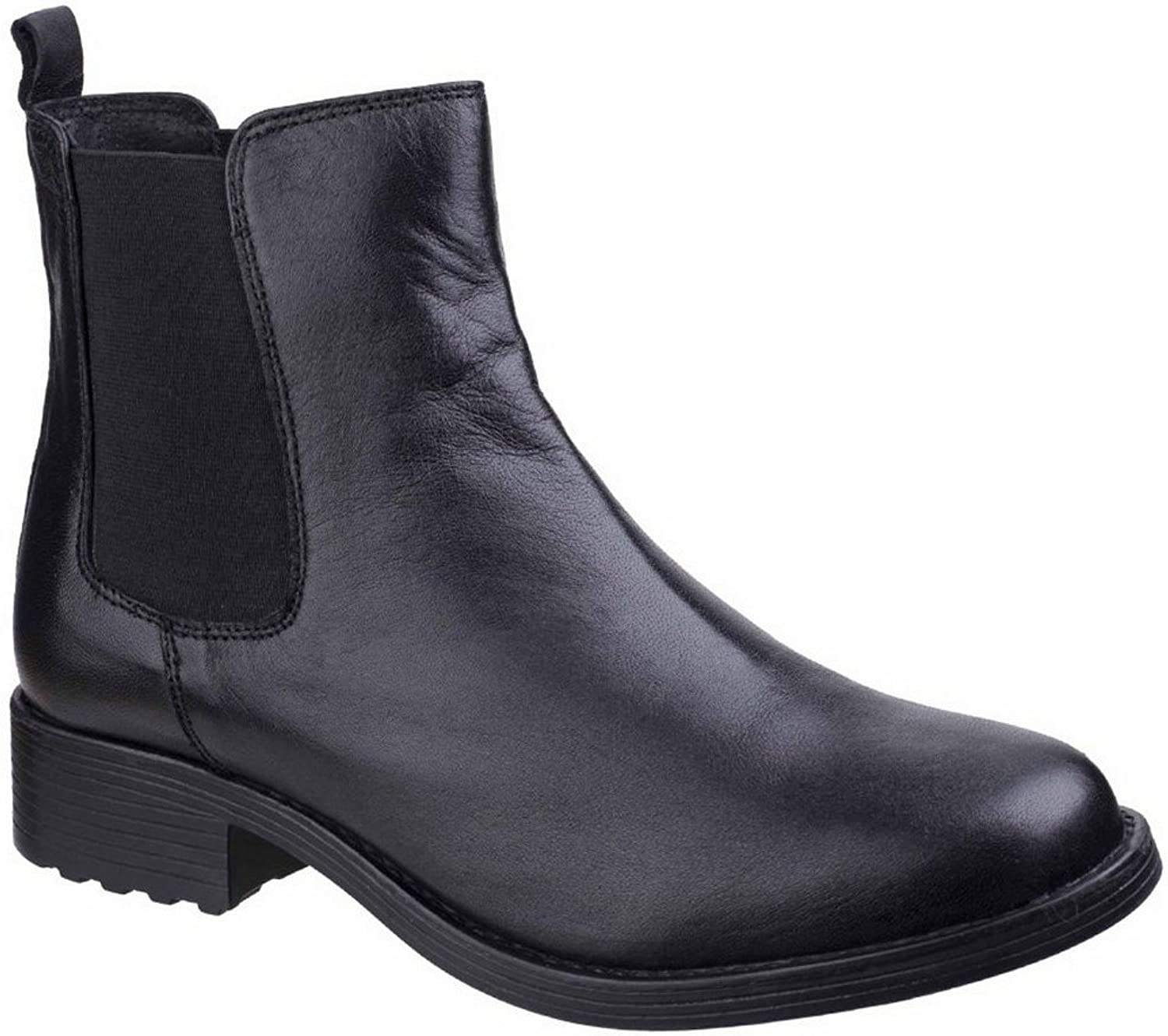 Fleet & Foster Womens Ladies Cambridge Waterproof Leather Chelsea Boots