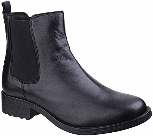 Fleet & Foster femmes Ladies Cambridge Leather Chelsea Ankle bottes