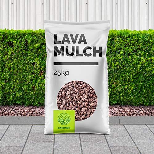 Lavamulch rot/braun 8-16mm als dekorative Gartenabdeckung 5-1000kg inkl. Lieferung (5)