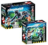 Playmobil Ghostbuster Set: 9223 Venkman + Terror Dogs & 9224 Spengler + Ghost