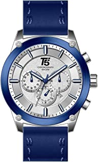 T5 Casual Watch For Men Analog Leather - H3514G