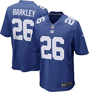 NIKE Saquon Barkley New York Giants Team Color Youth Game Jersey