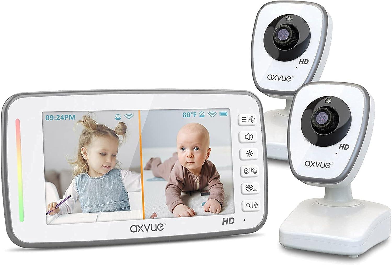[HD] Video Baby Monitor, 720P 5