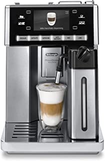DeLonghi ESAM 6900.M Delonghi ESAM6900 Prima Donna Exclusive Fully Automatic Espresso Maker with Lattecrema System, Stainless Steel