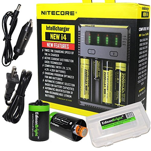NITECORE New i4 battery Charger For Li-ion / IMR /