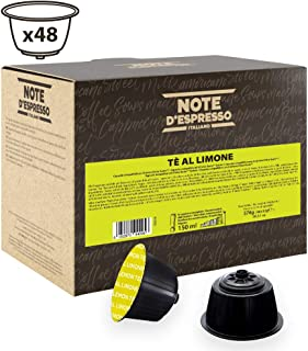 comprar comparacion Note D'Espresso Cápsulas de Té al Limón compatibles con cafeteras Dolce Gusto - 48 Unidades de 12g, Total: 576 g