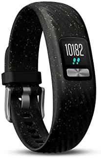 Garmin Vivofit 4 - Reloj Fitness Rastreador, Unisex, Negro/Verde, S/M