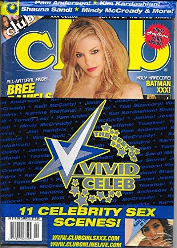 Club Men's Magazine Bree Daniels w/DVD December 2010 new/sealed