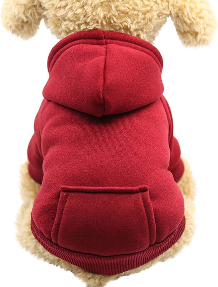 Pet Award Fleece Dog Hoodies Basic Hoodie Jacket Sweater Sweat Cotton Factory outlet