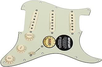 Fender Clapton Vintage Noiseless Loaded Strat Pickguard Mint Green/Aged White