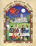 Explore Medieval Times: Age of Chivalry Coloring, Activities & History for Elementary Children.