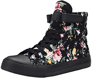 floral high top sneakers