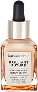 bareMinerals Brilliant Future Age Defense and Renew Serum, 1 Fluid Ounce, clear (I0096119)