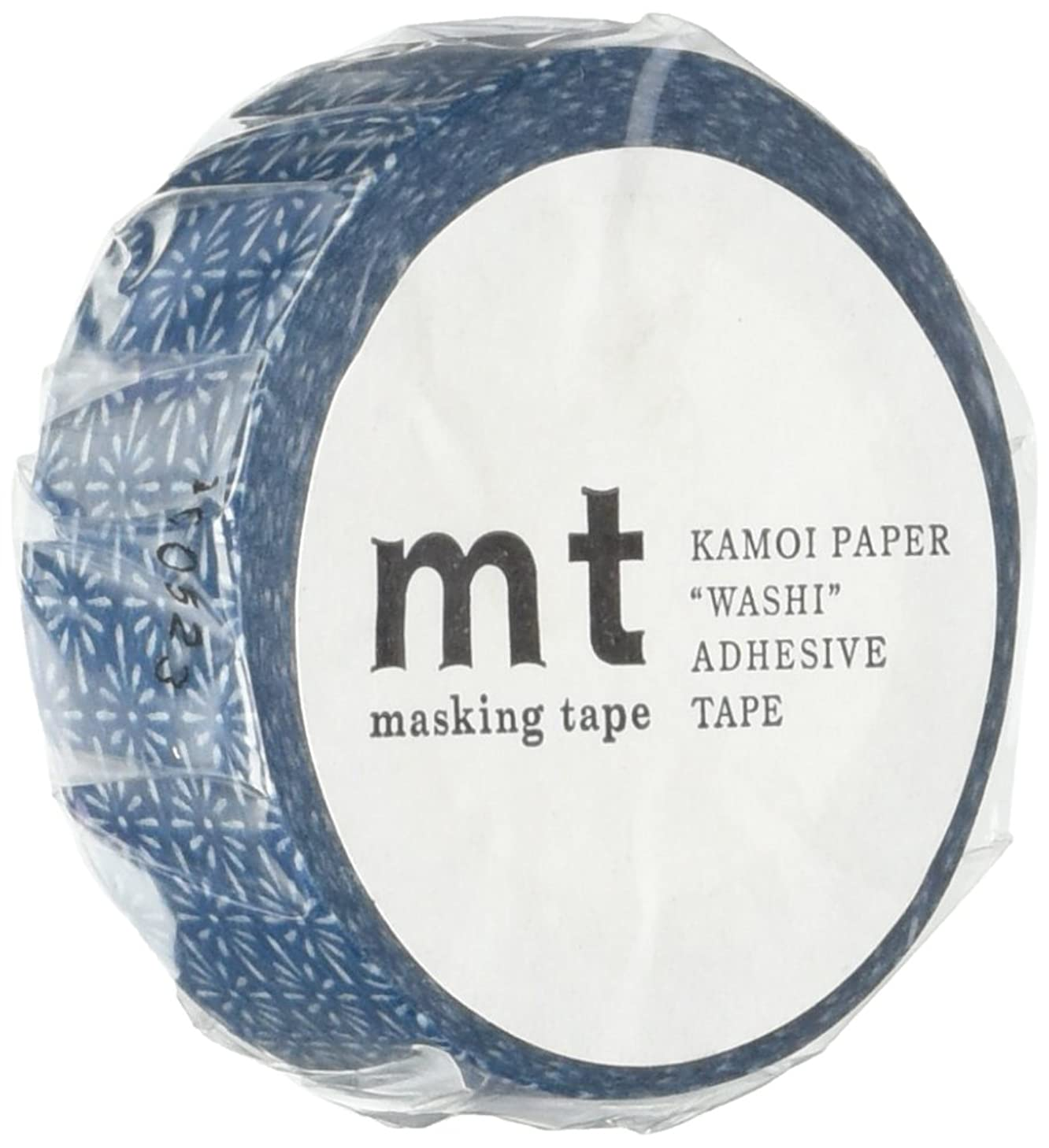 MT Washi Masking Tape, 1P Deco, 15mm x 10m, Hanabishi Tomekon (MT01D279)