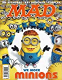 MAD Magazine August 2015 Issue 534 MINIONS, The Avengers, Ray Donovan